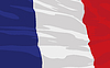 Vector clipart: flag of France