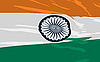 Vector clipart: flag of India
