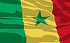 Vector clipart: flag of Senegal