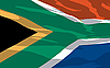 Vector clipart: flag of South Africa