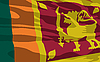 Vector clipart: flag of Sri Lanka