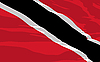 Vector clipart: flag of Trinidad and Tobago