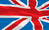 Vector clipart: flag of the United Kingdom