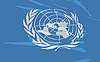 Vector clipart: flag of United Nations