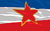 Vector clipart: flag of Yugoslavie