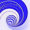 Vector clipart: spiral background