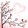 Vector clipart: love birds