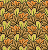 Vector clipart: autumn leaves background