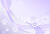 Векторный клипарт: сиреневый цветочный фон