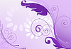 Vector clipart: purple abstract background