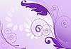 Векторный клипарт: фиолетовый абстрактного фона