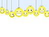 Vector clipart: Smileys