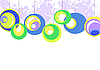 Векторный клипарт: цветные колеса