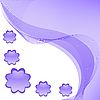 Vector clipart: Lilac abstract background