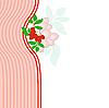 Vector clipart: rowan on pink
