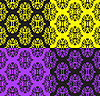 Vector clipart: set of seamless patterns