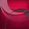 Vector clipart: abstract dark red background