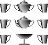 Vector clipart: Cookware set