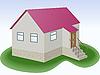Vector clipart: simple house