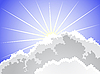 Vector clipart: Sunlight