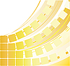 Vector clipart: Yellow abstract background