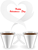 Vector clipart: Cup with smoky