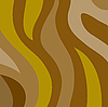 Vector clipart: Brown wavy stripes