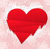 Vector clipart: broken heart