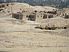 Beautiful ancient Egyptian houses | Stock Foto