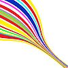 Векторный клипарт: абстрактные цветные линии