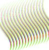 彩色线条 | 向量插图