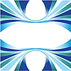Vector clipart: Abstract blue lines