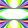 Vector clipart: Abstract colour lines