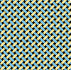 Vector clipart: blue yellow wicker background