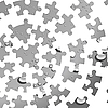 Vector clipart: puzzle background