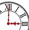 Векторный клипарт: Наберите часов.