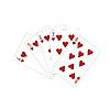 Векторный клипарт: Игральные карты.