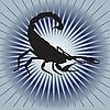 Векторный клипарт: торопясь Скорпиона.