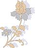 Векторный клипарт: Цветы.