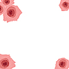 Векторный клипарт: Красивые розовые розы.