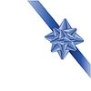 Векторный клипарт: Синий лук.