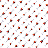 Vector clipart: Wall-paper of wine glasses.