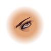 Vector clipart: Human eye.