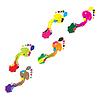Vector clipart: Prints of human foot.