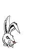 Vector clipart: Rabbit.
