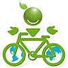 Vector clipart: bicycle sign