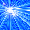 Niebieskie tło z promieni | Stock Vector Graphics