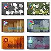 Векторный клипарт: Визитные карточки