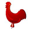 Vector clipart: cock