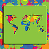Vector clipart: color world